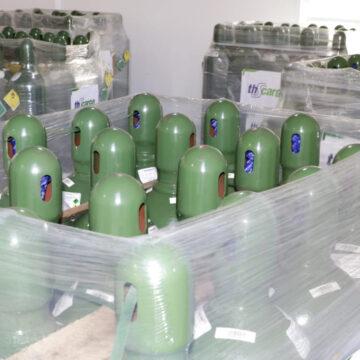 Petrobras doa cilindros de oxigênio à Rede Estadual de Saúde de Sergipe
