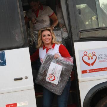Campanha de Inverno de Cuiabá arrecadou 70 mil cobertores em quatro anos