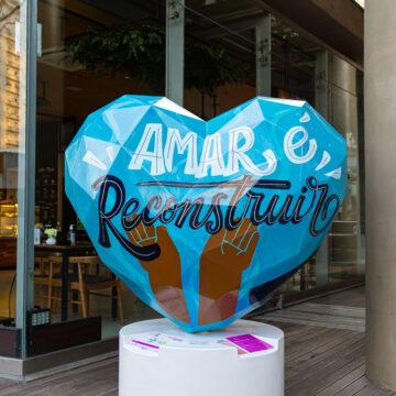 São Paulo cheia de amor com obras da exposição urbana Art of Love