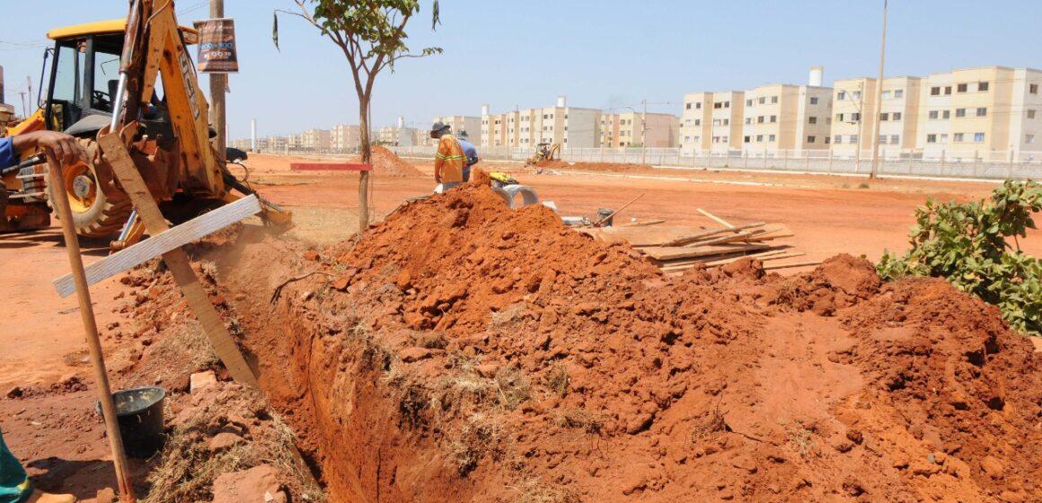 Obras beneficiam 3 mil famílias de baixa renda no DF